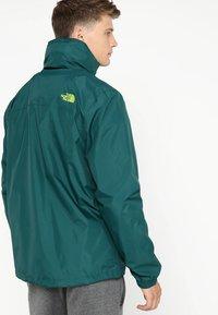 The North Face - RESOLVE JACKET - Outdoorová bunda - dark green - 3