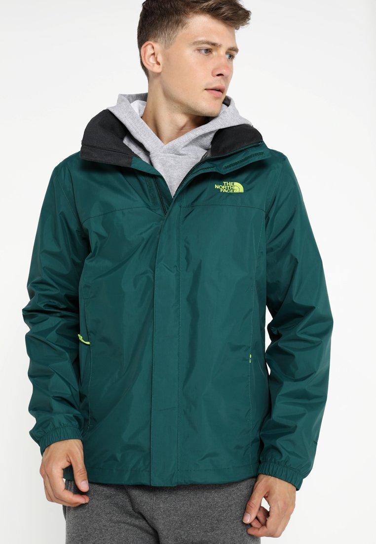 The North Face - RESOLVE JACKET - Outdoorová bunda - dark green