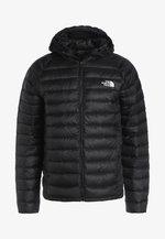 TREVAIL HOODIE - Down jacket - black