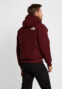 The North Face - GOTHAM URBAN  - Gewatteerde jas - deep garnet red - 3