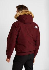 The North Face - GOTHAM URBAN  - Gewatteerde jas - deep garnet red - 2