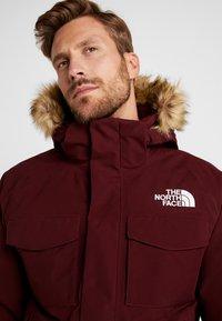The North Face - GOTHAM URBAN  - Gewatteerde jas - deep garnet red - 5