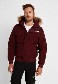 The North Face - GOTHAM URBAN  - Gewatteerde jas - deep garnet red - 0