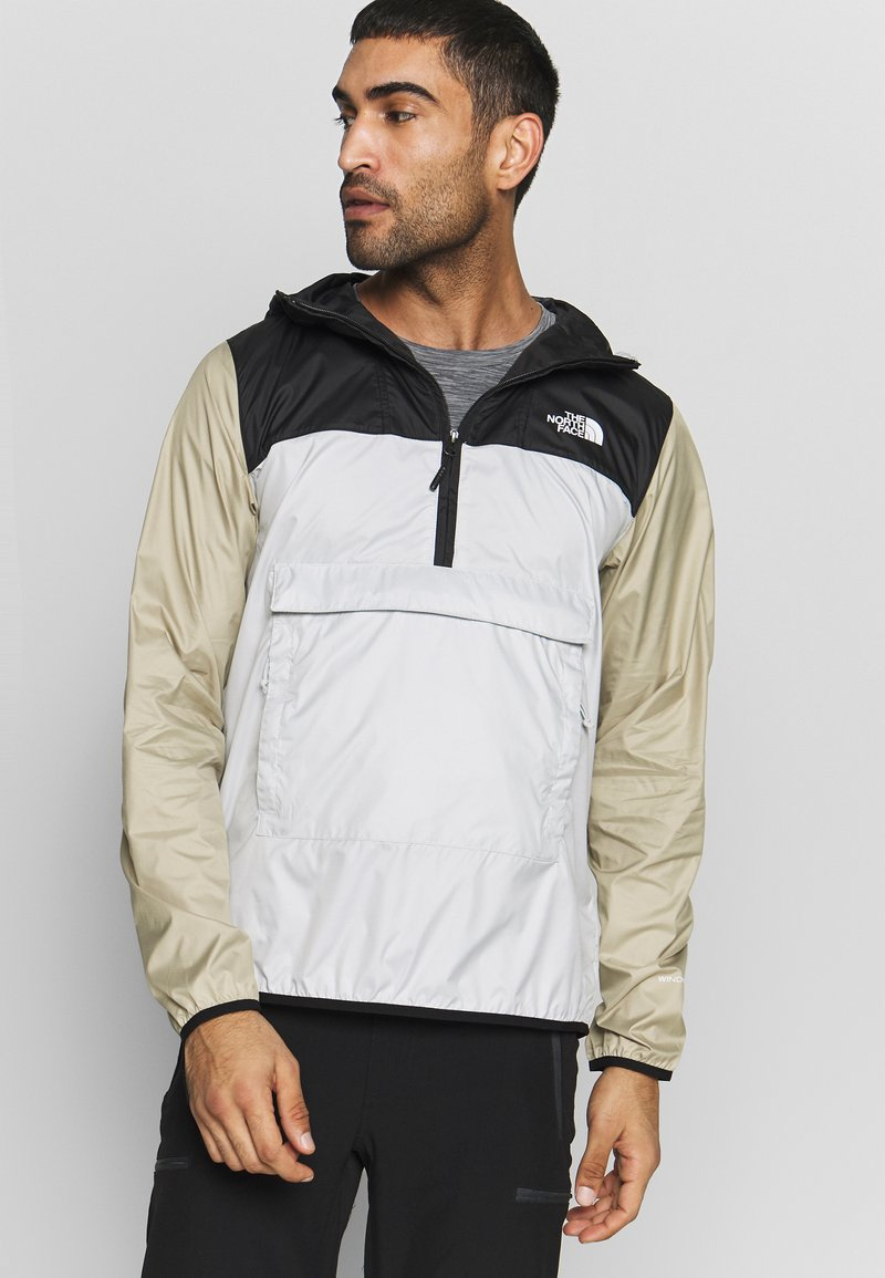 The North Face - MENS FANORAK - Veste coupe-vent - tingrey/black/twill beige