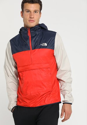 MENS FANORAK - Veste coupe-vent - red/dark blue