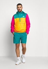 The North Face - MENS FANORAK - Veste coupe-vent - orange/teal/pink - 1