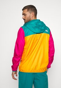 The North Face - MENS FANORAK - Veste coupe-vent - orange/teal/pink - 2