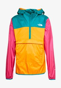 The North Face - MENS FANORAK - Veste coupe-vent - orange/teal/pink - 5