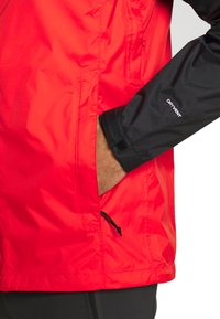 The North Face - MENS VENTURE 2 JACKET - Kurtka hardshell - fiery red/black - 6