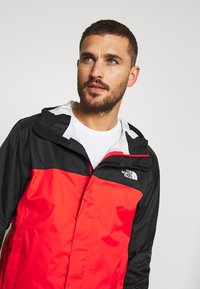 The North Face - MENS VENTURE 2 JACKET - Kurtka hardshell - fiery red/black - 3