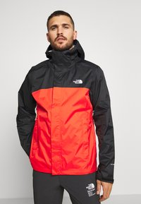 The North Face - MENS VENTURE 2 JACKET - Kurtka hardshell - fiery red/black - 0