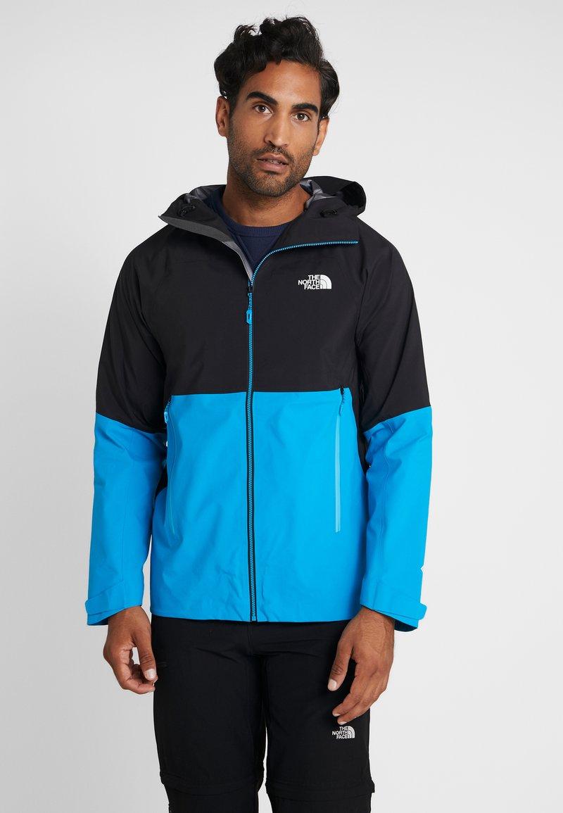 The North Face - IMPENDOR SHELL - Hardshell jacket - acoustic blue/black