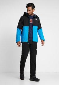 The North Face - IMPENDOR SHELL - Hardshell jacket - acoustic blue/black - 1