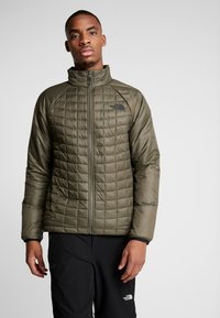 The North Face - Outdoorjas - new taupe green/black - 3