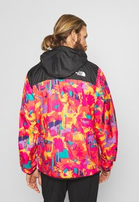 The North Face - MEN'S NOVELTY FANORAK - Veste coupe-vent - black/pink - 2
