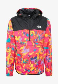 The North Face - MEN'S NOVELTY FANORAK - Veste coupe-vent - black/pink - 6