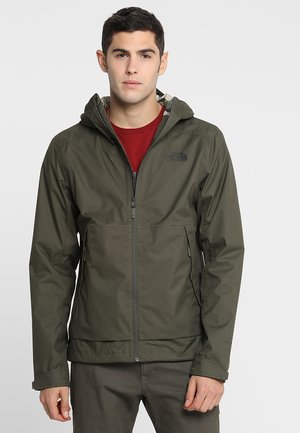MENS MILLERTON JACKET - Hardshell jacket - new taupe green