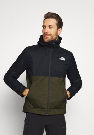 MENS MILLERTON JACKET - Hardshellová bunda - new taupe green/asphalt grey