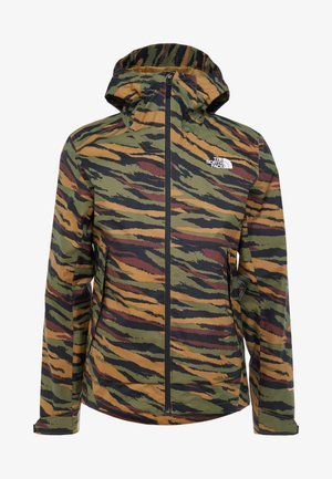 MENS MILLERTON JACKET - Kurtka hardshell - burnt olive green