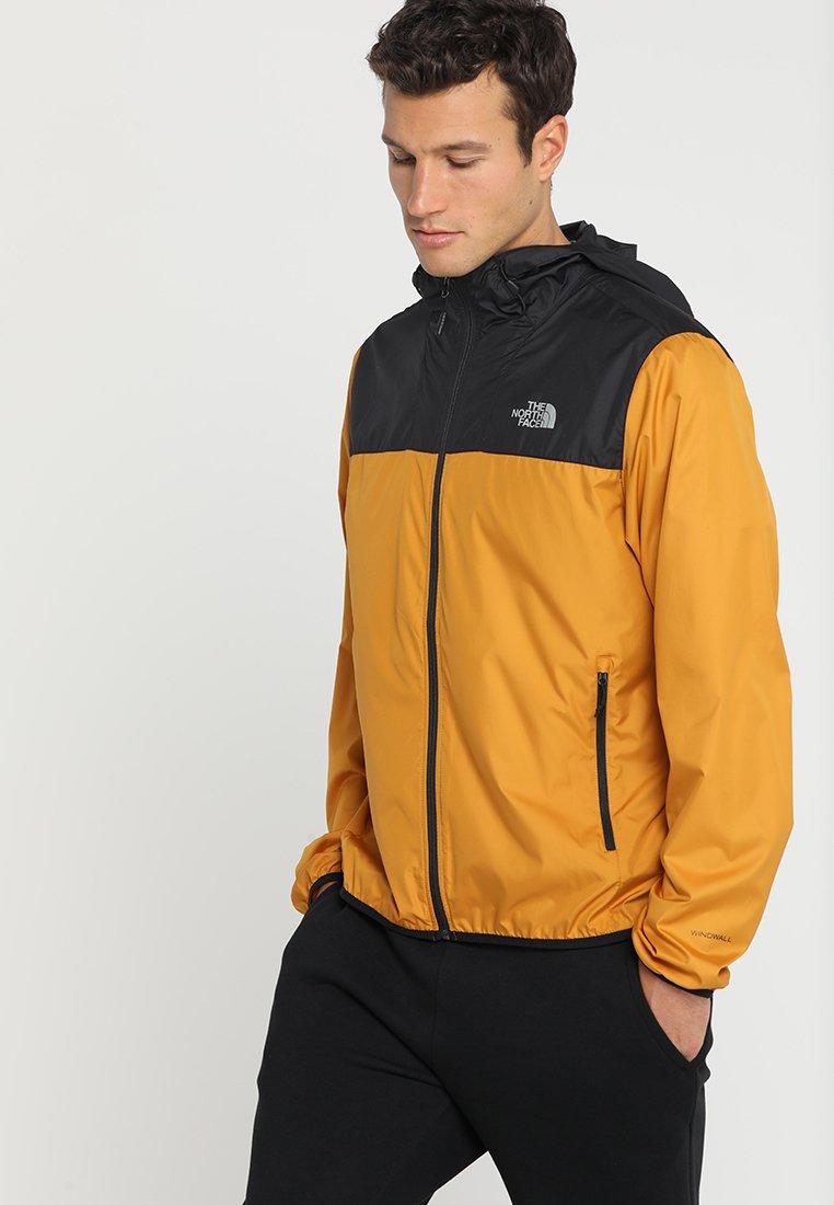The North Face - CYCLONE - Regenjas - yellow/black