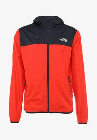 The North Face - MENS CYCLONE 2.0 HOODIE - Impermeable - fiery red/urban navy - 4
