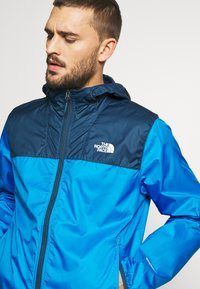The North Face - MENS CYCLONE 2.0 HOODIE - Impermeable - blue wing teal/clear lake blue - 3