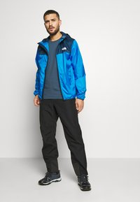 The North Face - MENS CYCLONE 2.0 HOODIE - Impermeable - blue wing teal/clear lake blue - 1