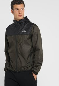 The North Face - MENS CYCLONE 2.0 HOODIE - Impermeable - new taupe green/black - 0