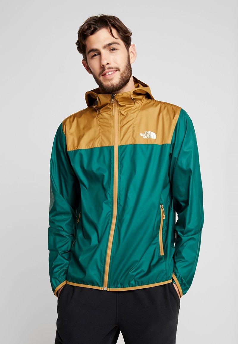 The North Face - CYCLONE - Waterproof jacket - night green/british khaki