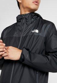 The North Face - CYCLONE - Regnjakke / vandafvisende jakker - black/asphalt grey - 4