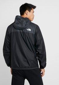 The North Face - CYCLONE - Regnjakke / vandafvisende jakker - black/asphalt grey - 2