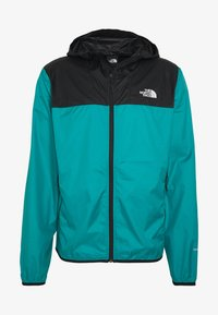 The North Face - MENS CYCLONE 2.0 HOODIE - Impermeable - black/fanfare green - 4