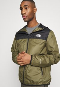The North Face - MENS CYCLONE 2.0 HOODIE - Impermeabile - black/burnt olive grn - 3