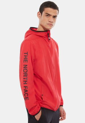 TRAIN LOGO URBAN - Trainingsjacke - red