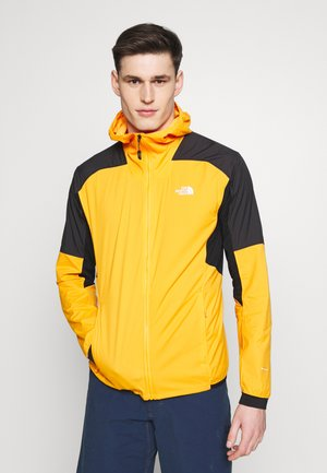 MENS IMPENDOR LIGHT WINDWALL™ - Kurtka Outdoor - flame orange/black