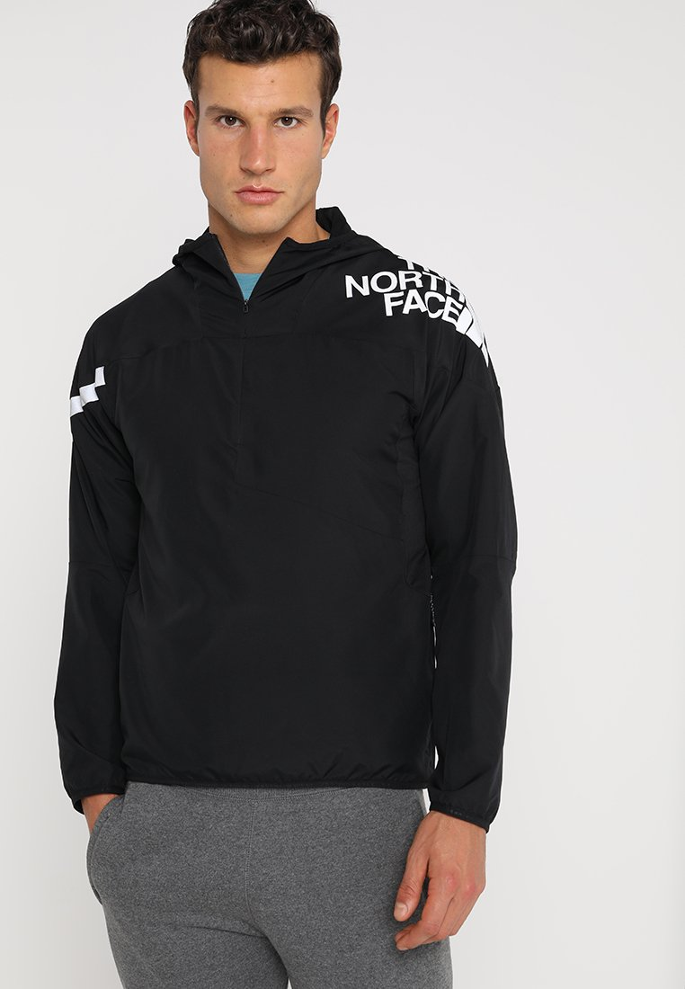 The North Face - TERRA TRAINING PULL OVER - Windbreaker - black