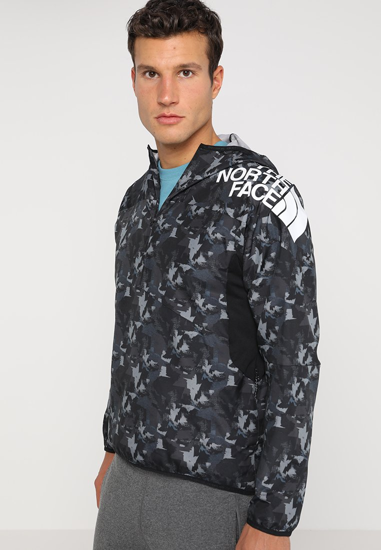 The North Face - TERRA TRAINING PULL OVER - Windbreaker - black crag