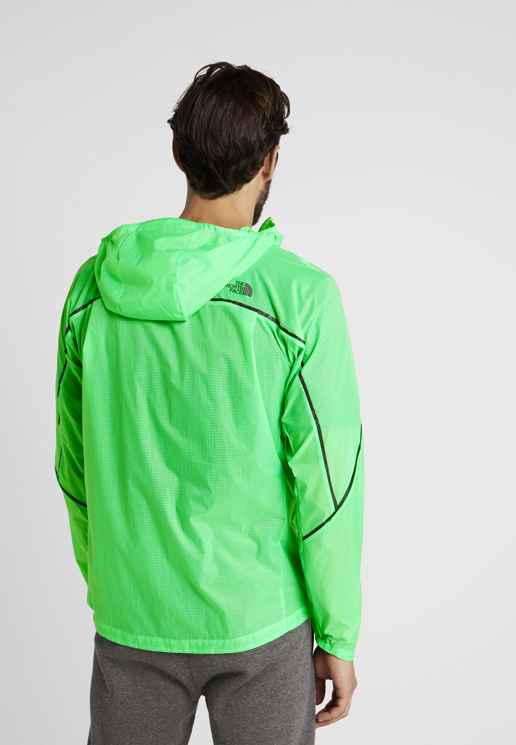 Face Chlorophyll Green JacketBlouson Wind The Flight North f76yYgb