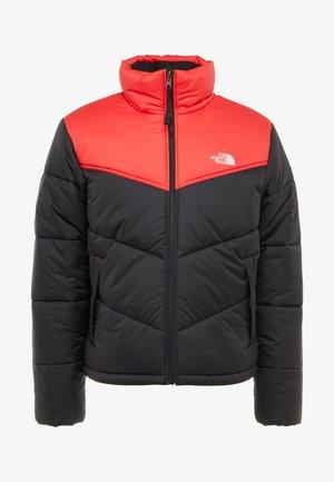 JACKET - Winterjas - black/red