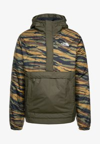 The North Face - INSULATED FANORAK - Outdoor jacket - british kaki tiger camoprint /new taupe green - 7