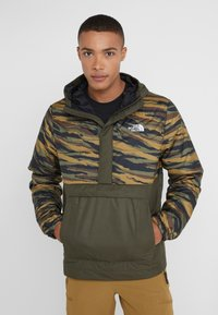 The North Face - INSULATED FANORAK - Outdoor jacket - british kaki tiger camoprint /new taupe green - 0