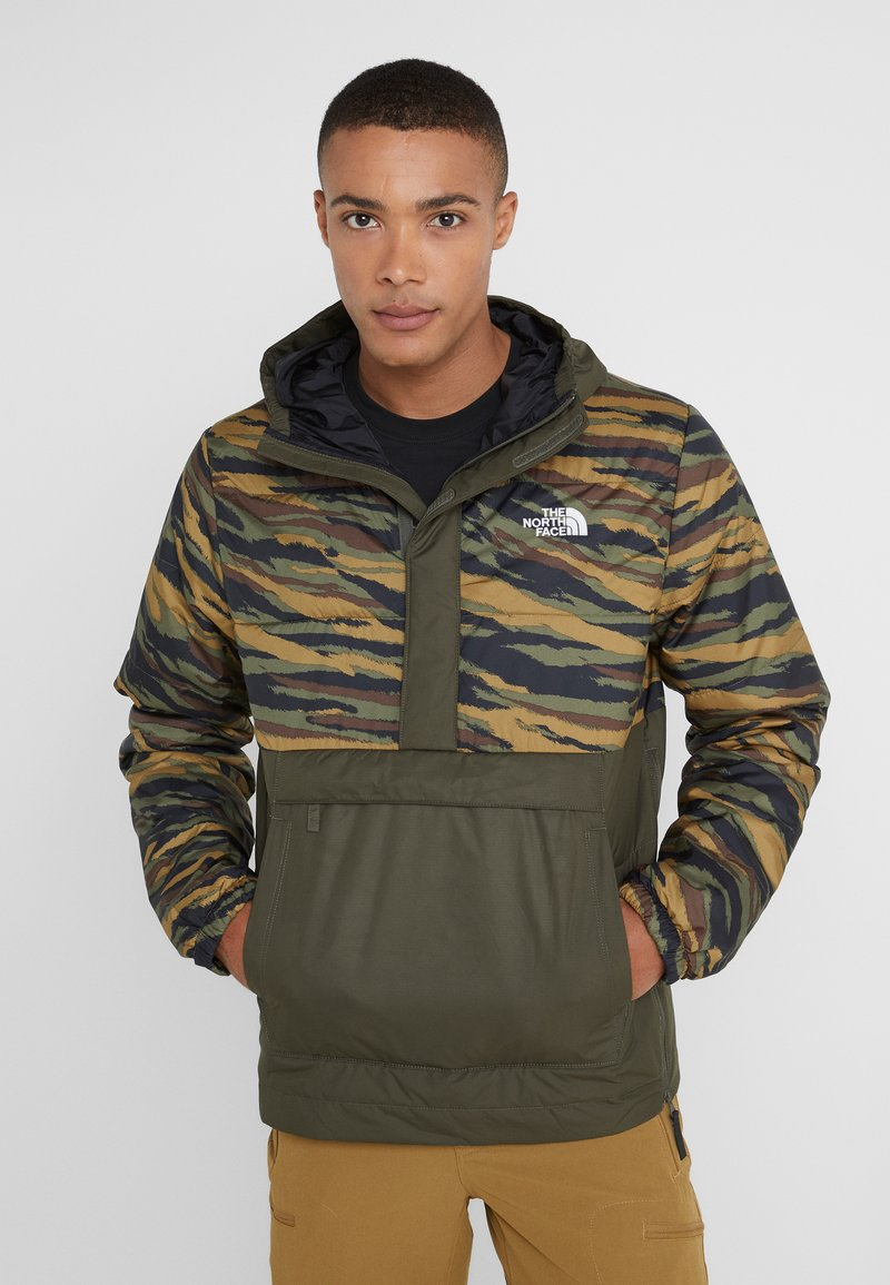 The North Face - INSULATED FANORAK - Outdoor jacket - british kaki tiger camoprint /new taupe green