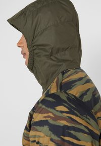 The North Face - INSULATED FANORAK - Outdoor jacket - british kaki tiger camoprint /new taupe green - 8