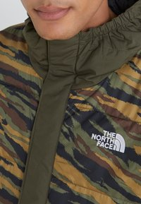 The North Face - INSULATED FANORAK - Outdoor jacket - british kaki tiger camoprint /new taupe green - 5