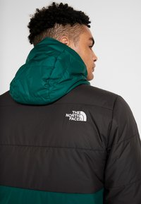 The North Face - INSULATED FANORAK - Outdoorjas - night green/black - 5
