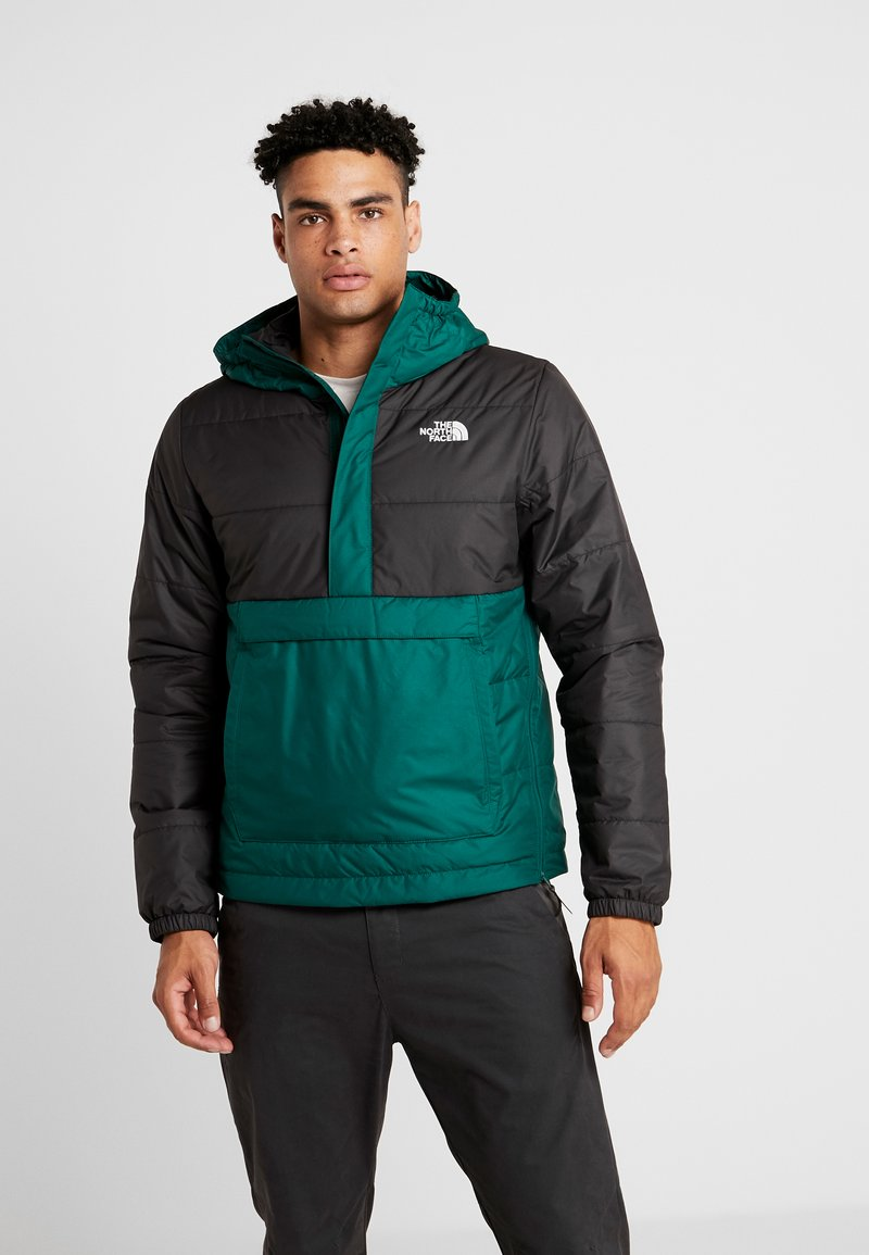 The North Face - INSULATED FANORAK - Outdoorjas - night green/black