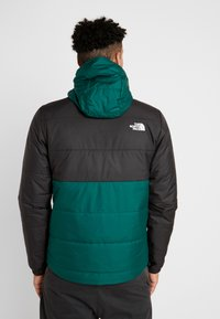 The North Face - INSULATED FANORAK - Outdoorjas - night green/black - 2