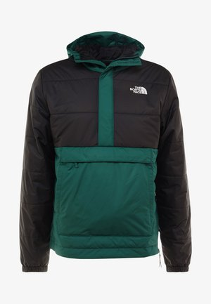INSULATED FANORAK - Kurtka Outdoor - night green/black