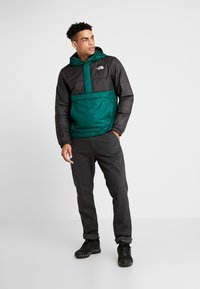 The North Face - INSULATED FANORAK - Outdoorjas - night green/black - 1