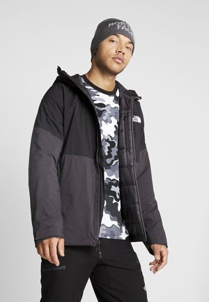 IMPENDOR INSULATED JACKET - Outdoorjas - weathered black/black